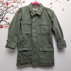 Urban Outfitters Embroidered Army Jacket M